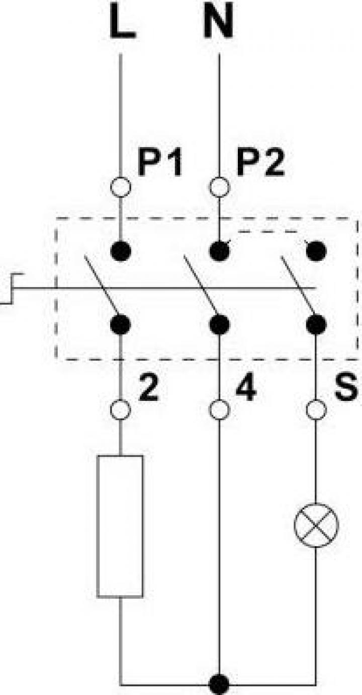 Regulator energie 7A/400V, rotatie dreapta, M4