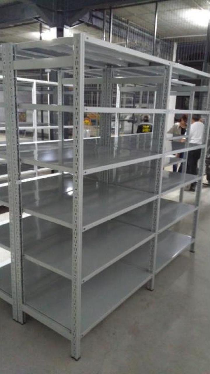 Rafturi metalice cu polite 500*1200*3000H-6NIV