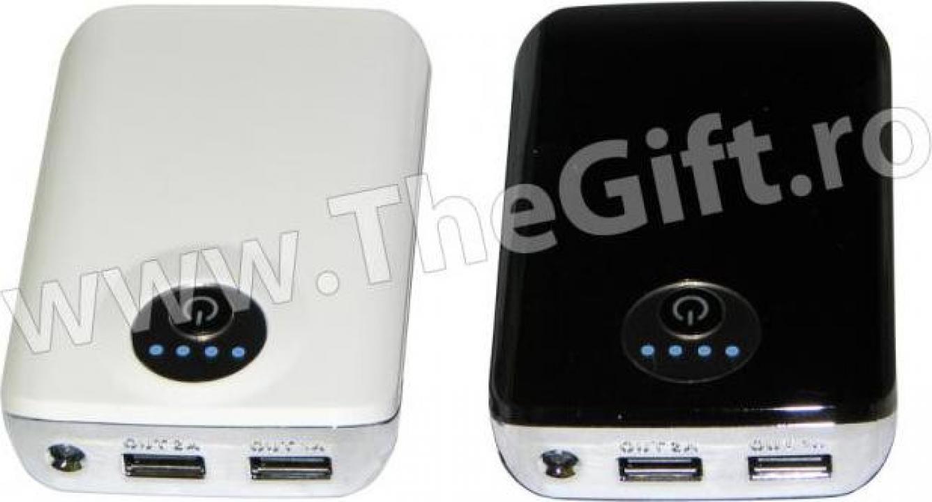 Acumulator 10000mAh pentru SmartPhone, iPhone, iPad