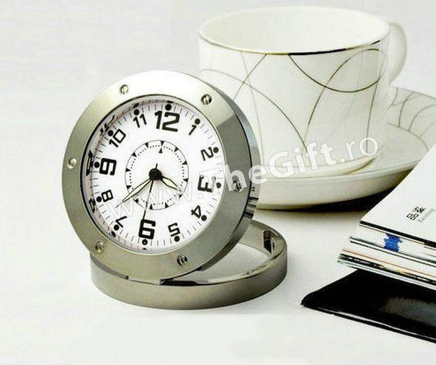 Camera audio vidoe spion, in forma de ceas
