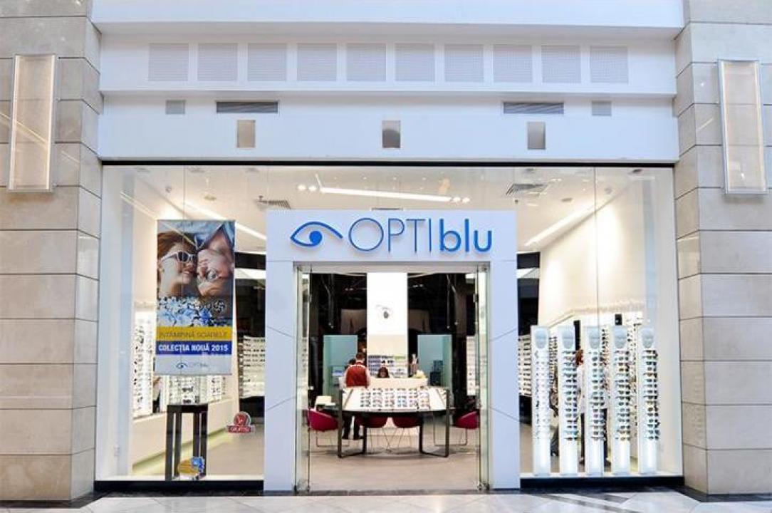 Fatade sticla pentru optica medicala Optiblu