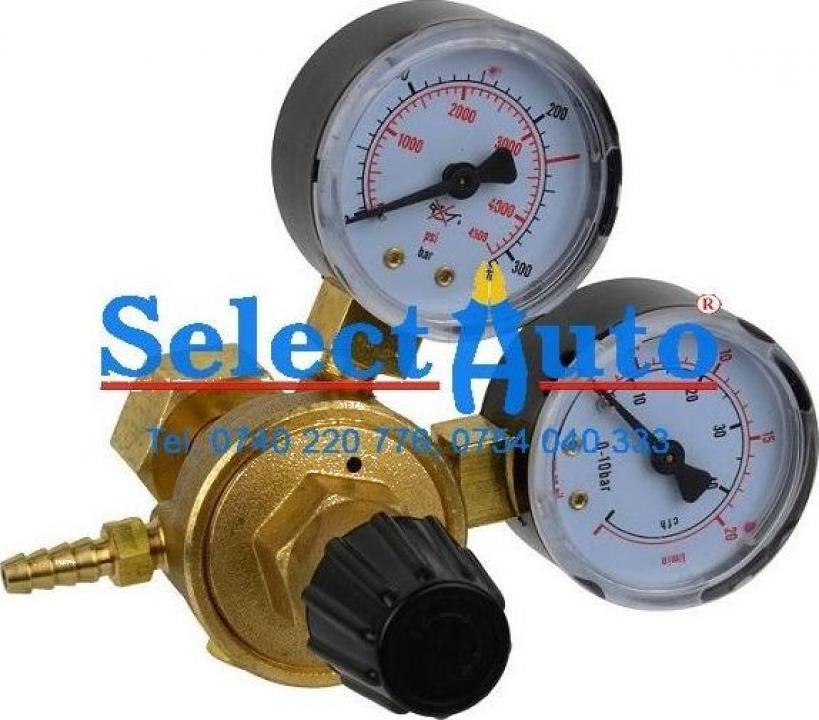 Regulator de presiune cu 2 manometre