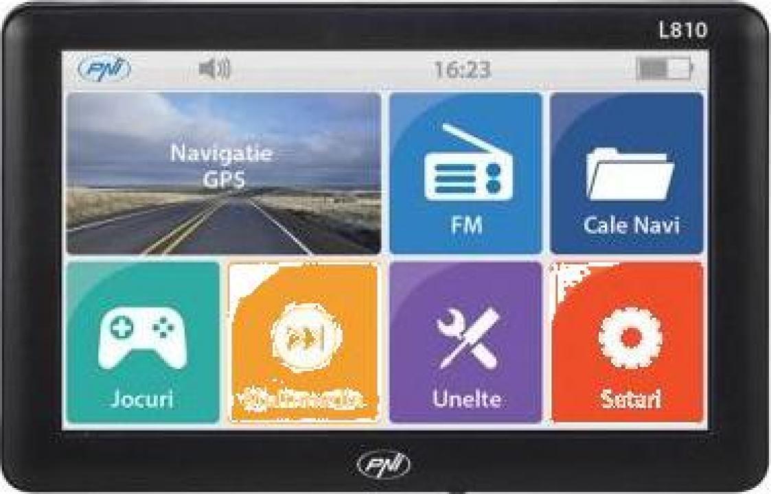Sistem navigatie GPS PNI L810 cu harti full Europa