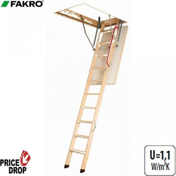 Scara modulara din lemn LWK Komfort