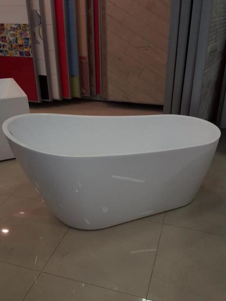 Cada baie ovala compozit