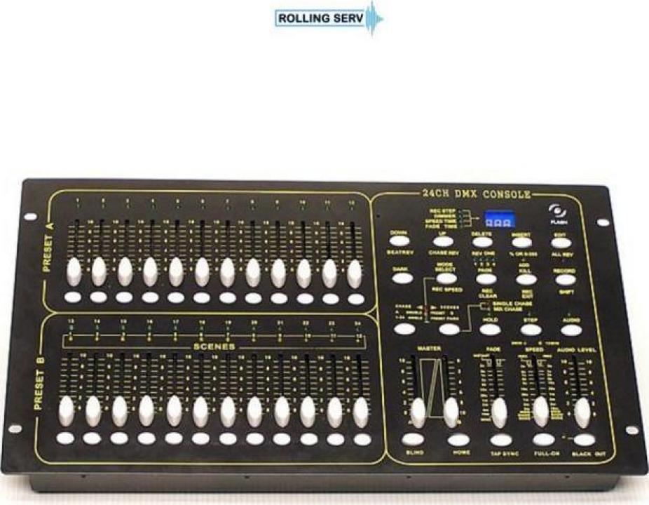 Consola mixer 24ch DMX Dimmer