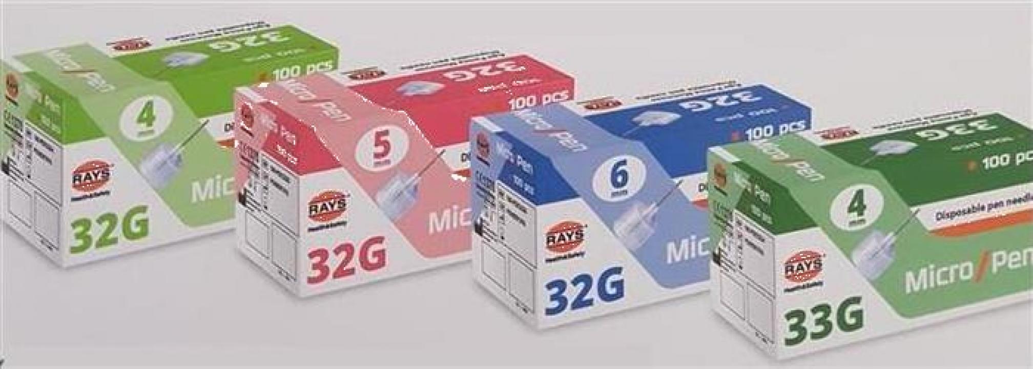 Ace insulina pen Rays - 32g