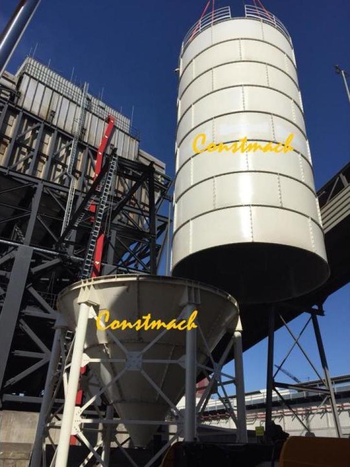 Siloz de ciment Tonnes Silo, 500 tone