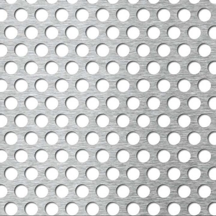 Tabla din aluminiu perforata