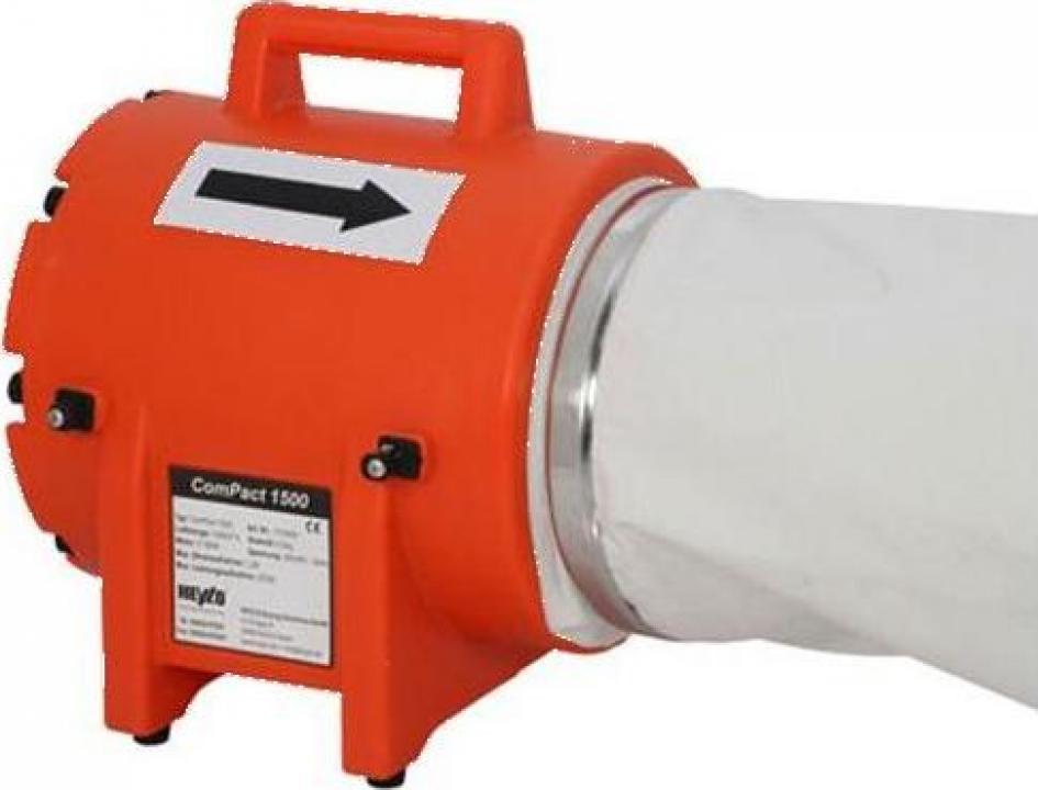Ventilator axial portabil Heylo PowerVent 1500 K
