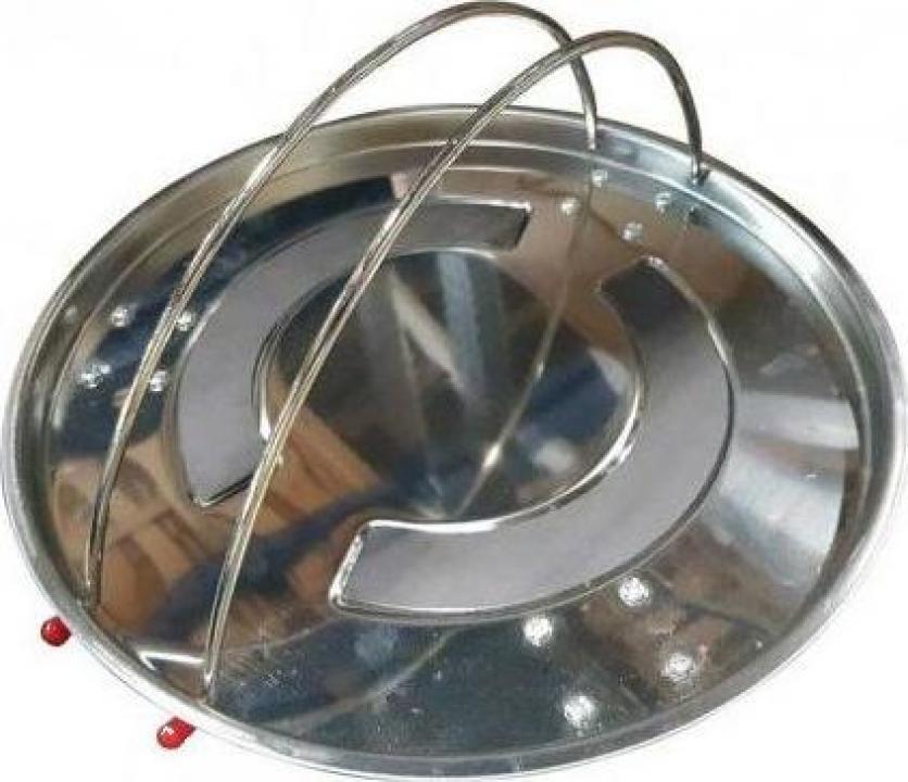 Suport magnetic pentru scule cu roti