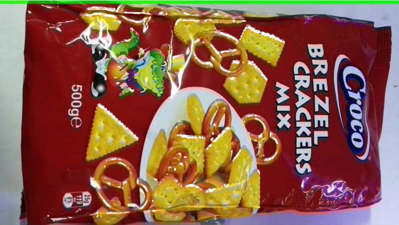 Biscuiti Croco Crackers Mix 500 gr.
