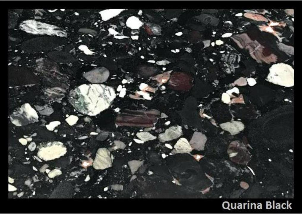 Granit Quarina Black