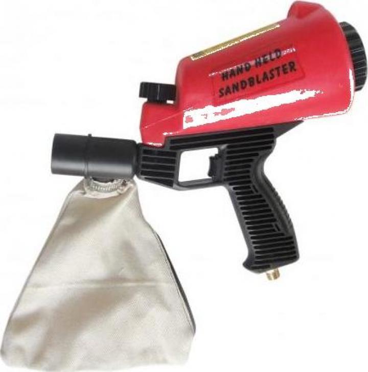 Pistol sablare manual, 0.9l - LN-HSB-I