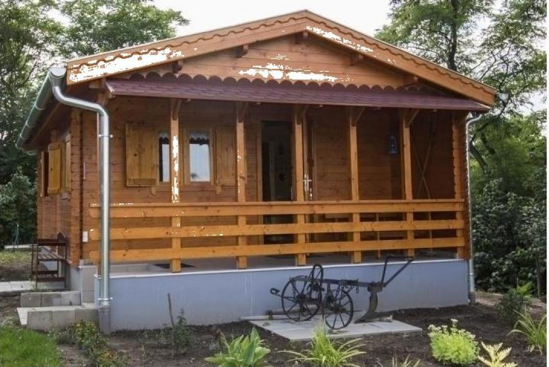Casa de vacanta din lemn Raba izolat
