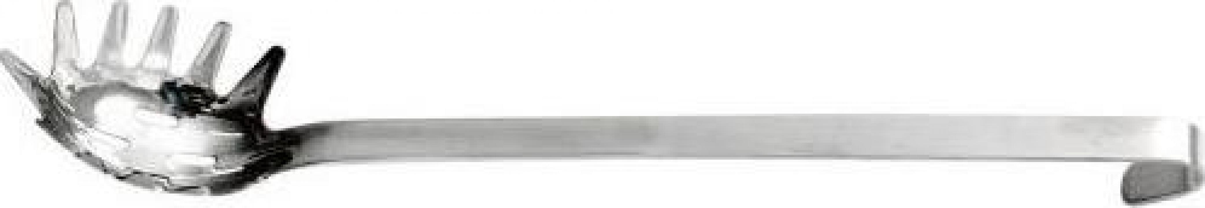 Lingura pentru paste inox monobloc 40 cm