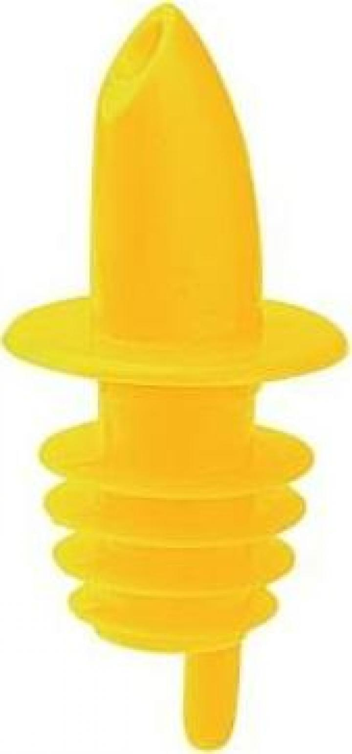 Pourer plastic galben