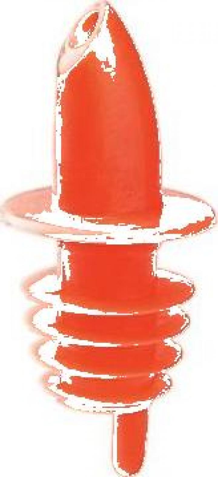 Pourer plastic portocaliu