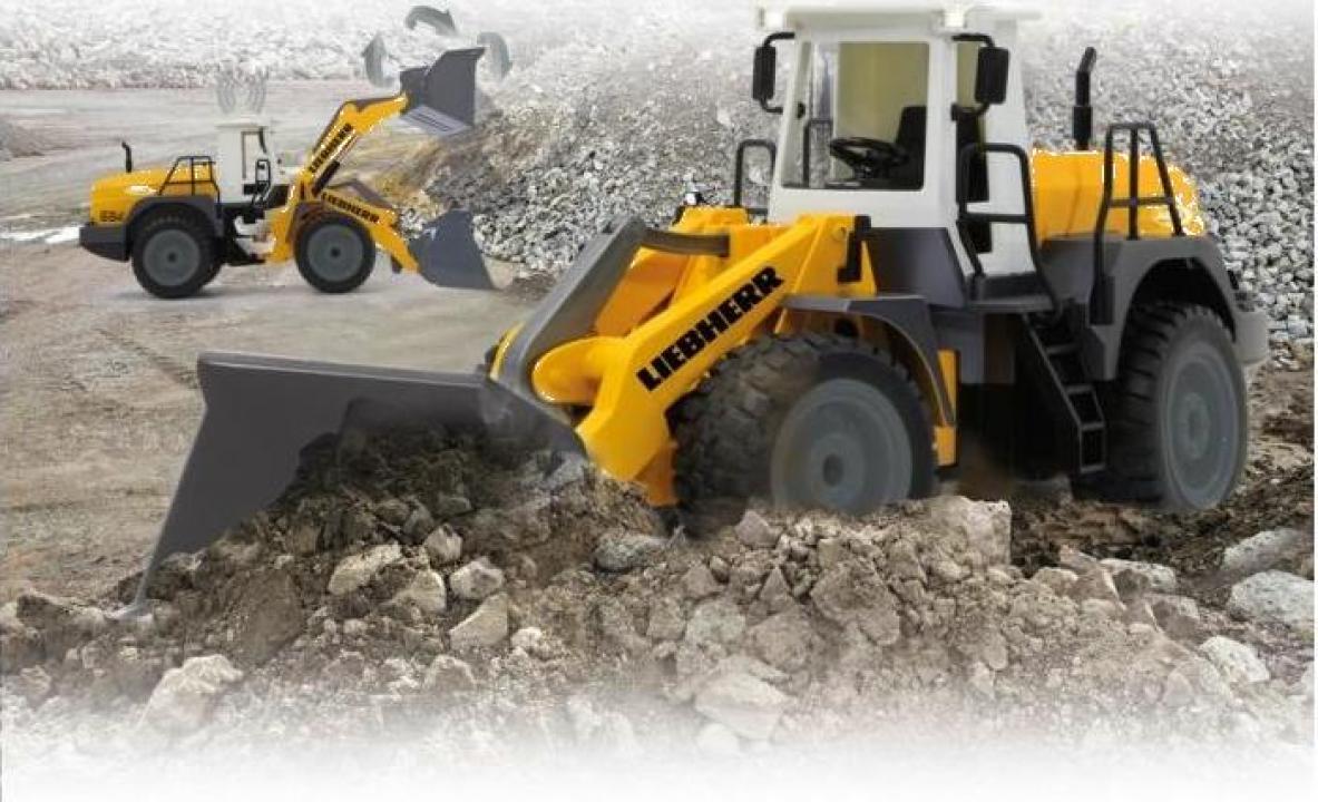 Jucarie excavator Jamara Liebherr 564 1:20 2.4 GHz