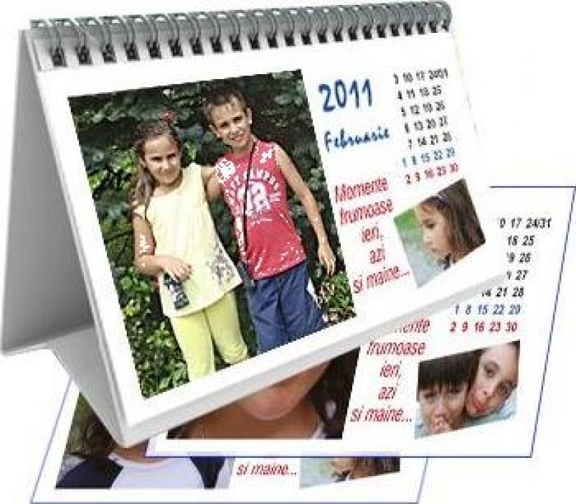 Calendar personalizat de birou CALP007