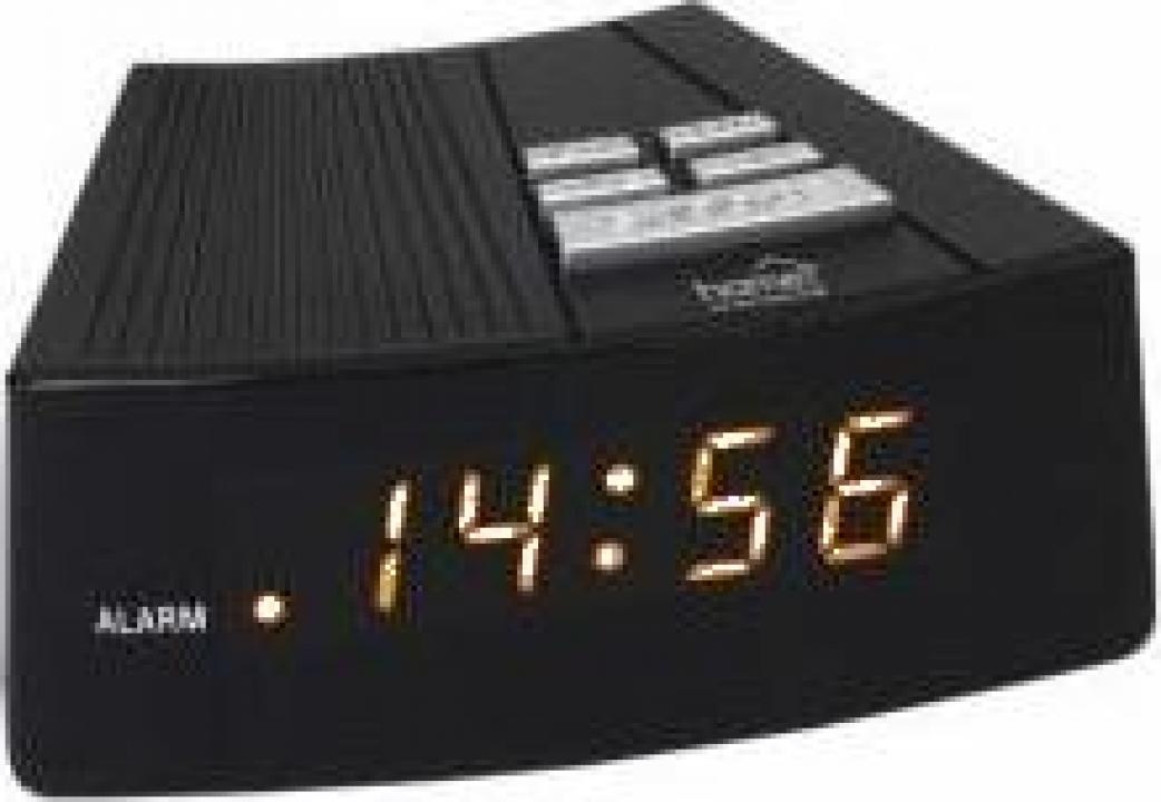 Ceas desteptator Home LTC 03, negru, digital