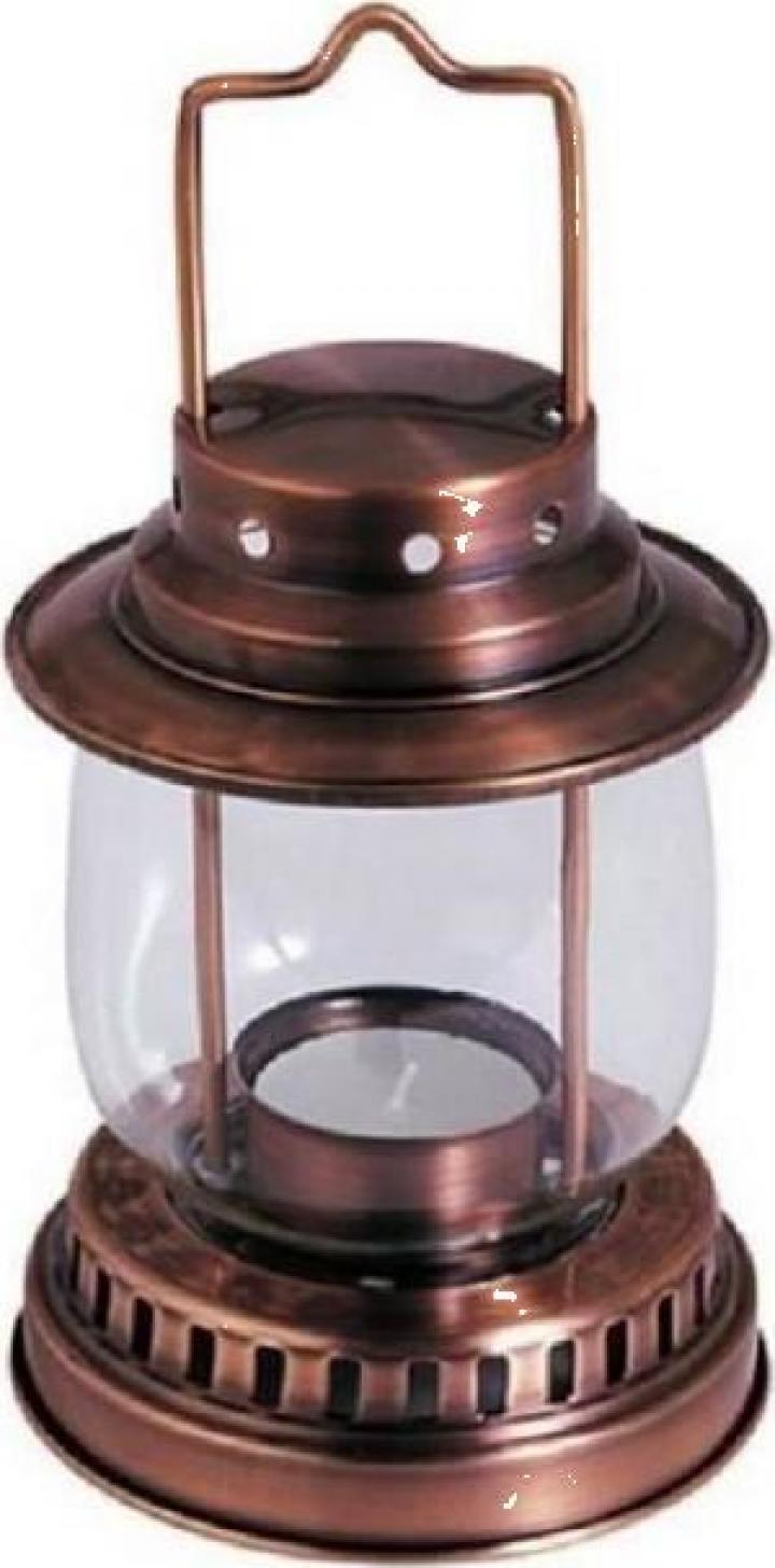 Lampa cu lumanare pastila Strend Pro H135, 190 mm