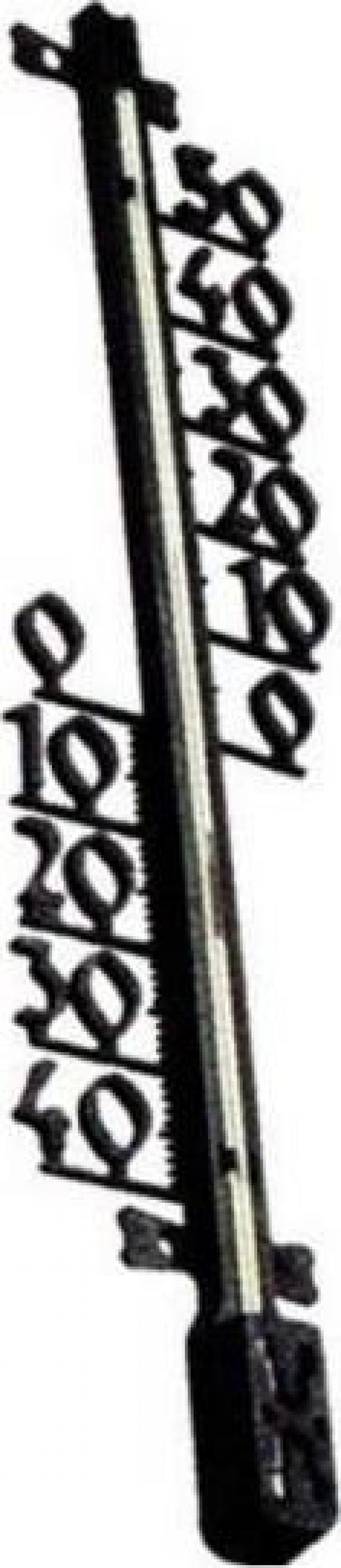 Termometru Strend Pro TMS-157 Decora, 470x110x25 mm, plastic
