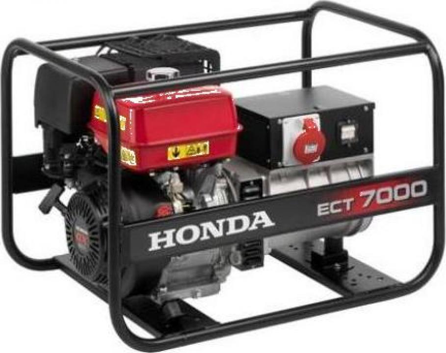 Generator de curent electric trifazat Honda 7 ECT 7000 GV