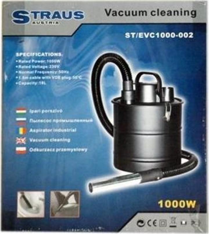 Aspirator industrial 1000W Straus Austria