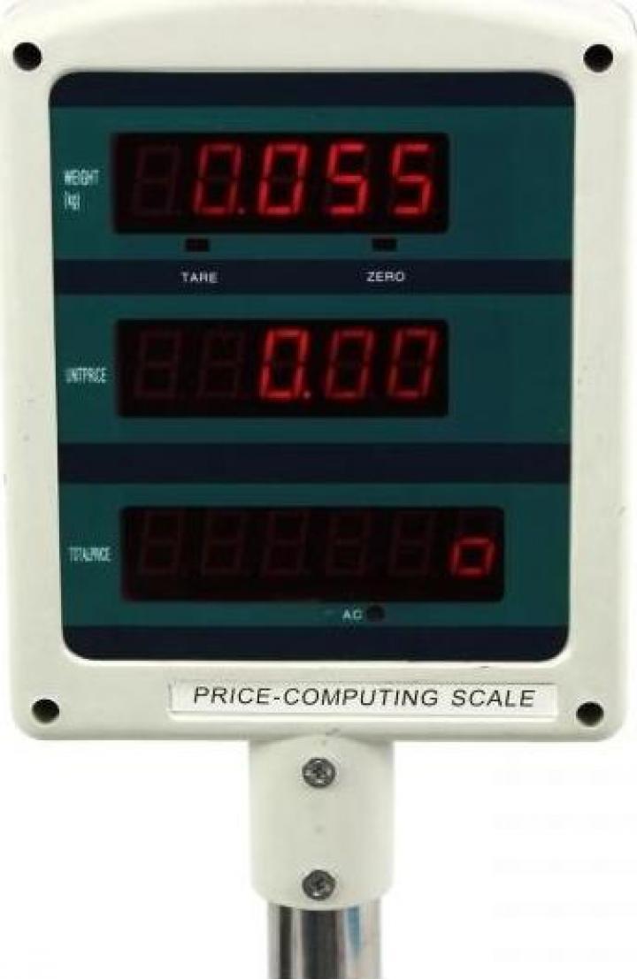 Cantar electronic comercial 30 kg ACS-30