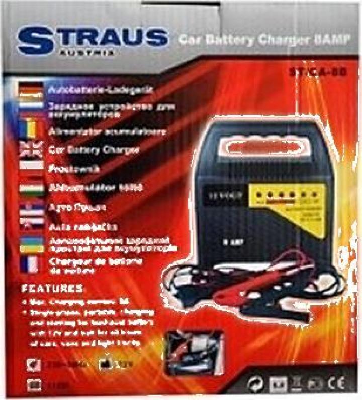 Redresor pentru baterii auto Straus Austria ST/CA 8B