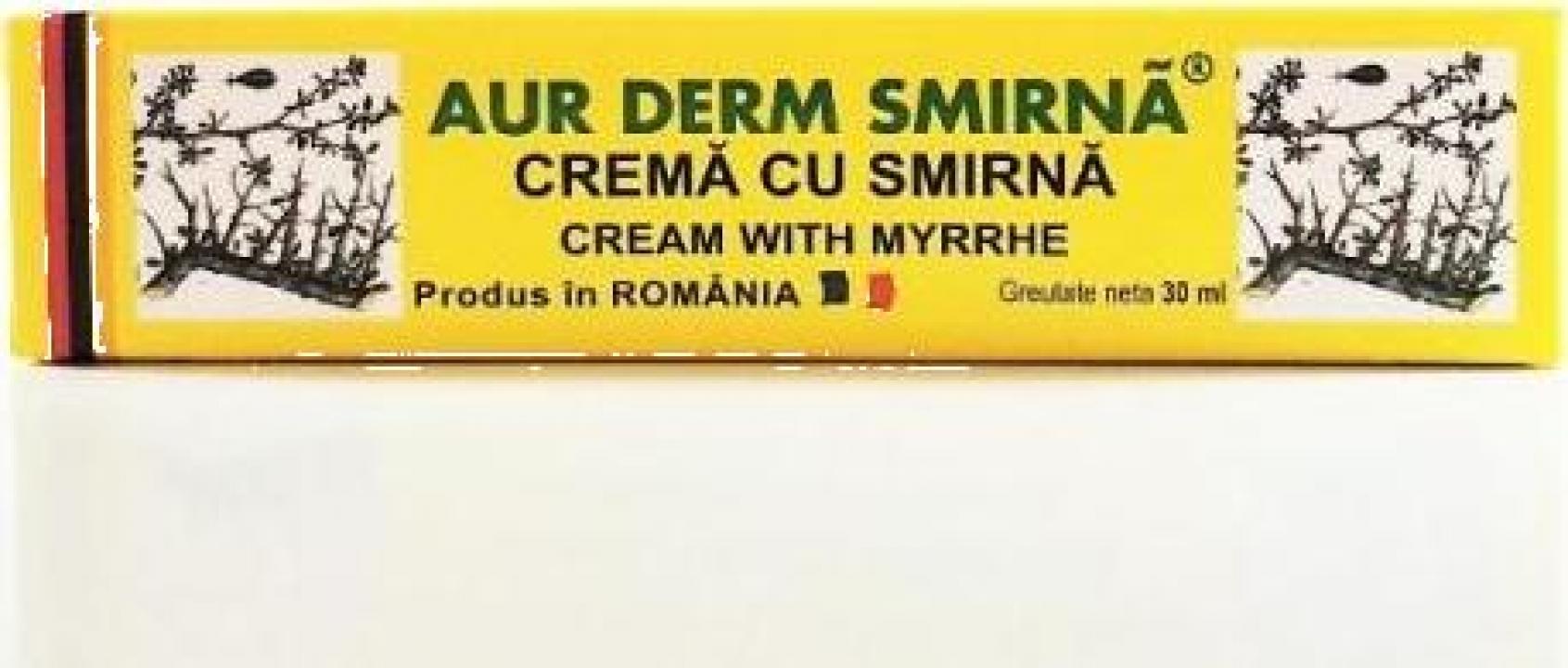 Crema cu smirna Aur Derm - 30 ml