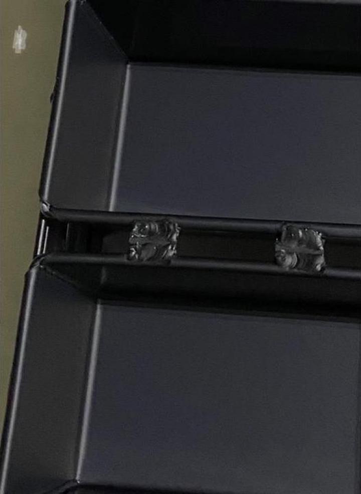 Tava de aluminiu anodizata / eloxata