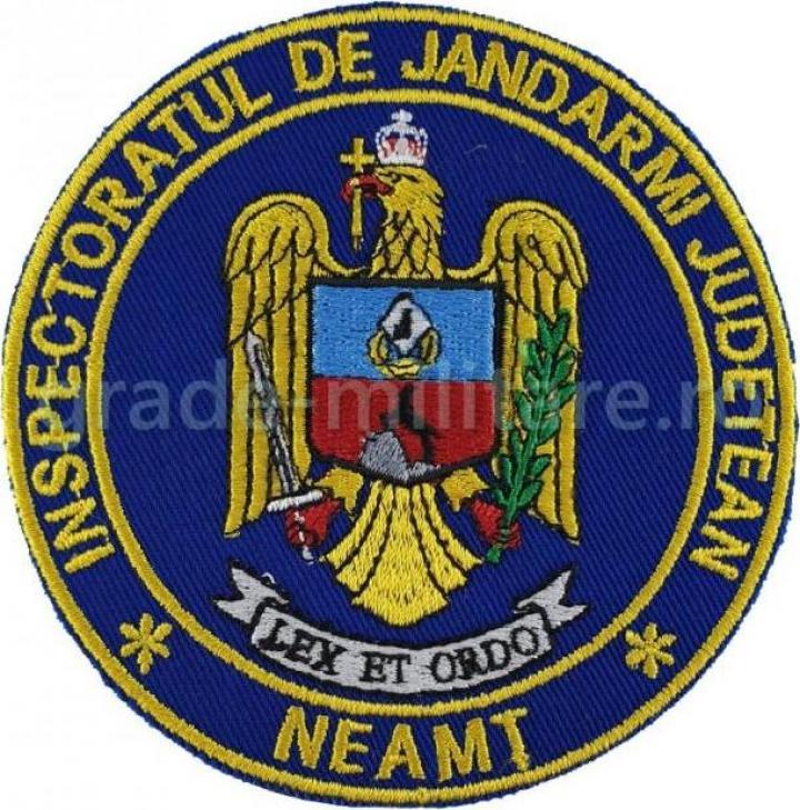 Emblema Inspectoratul Judetean de Jandarmi Neamt