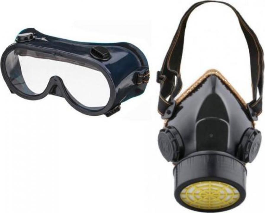 Masca + ochelari protectie atomizor