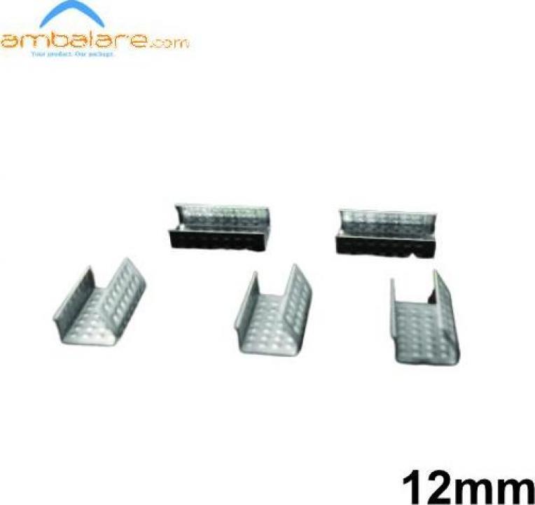 Capse metalice pentru banda PP / PET de 12mm, 1000 buc