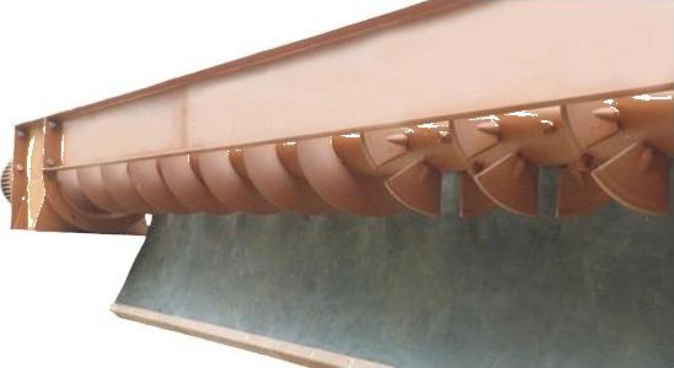Transportoare cu snec elicoidale pentru beton proaspat