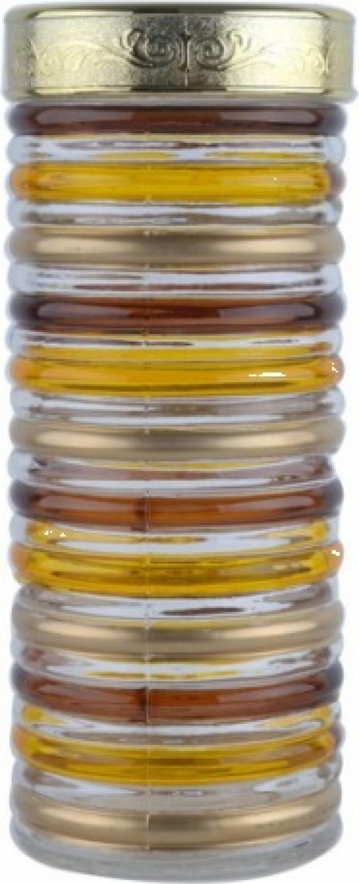 Borcan pictat manual din sticla, 2200 ml