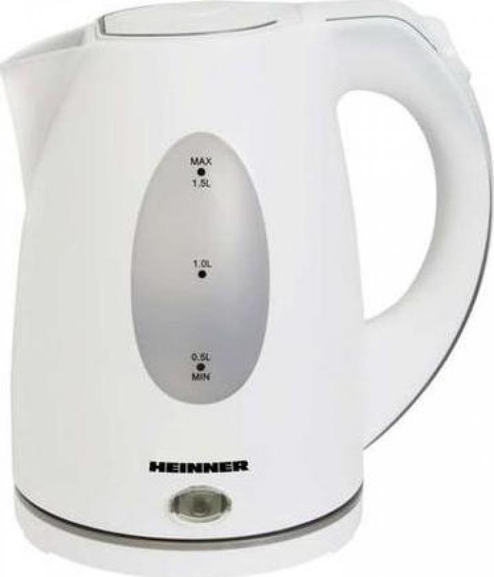 Fierbator Heinner Instant 2200 W, 1.5 l