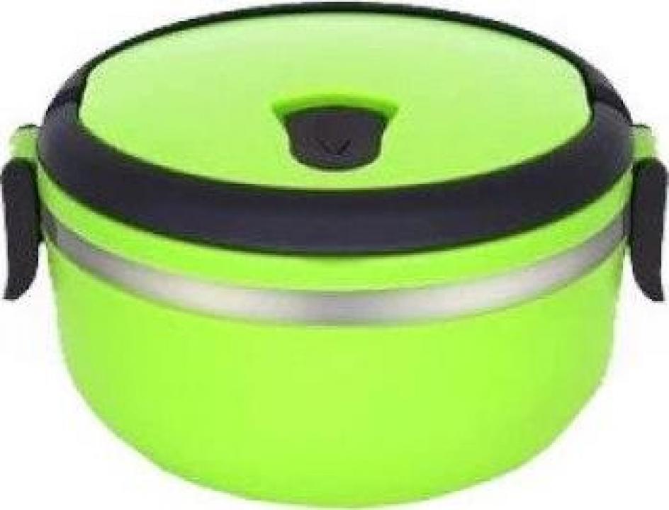Caserola termica, verde, 0.7 litri, Heinner