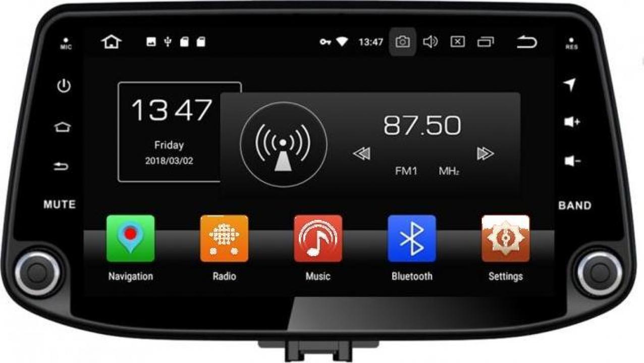 Sistem navigatie Hyundai I30 Kona 2017 cu Android 10