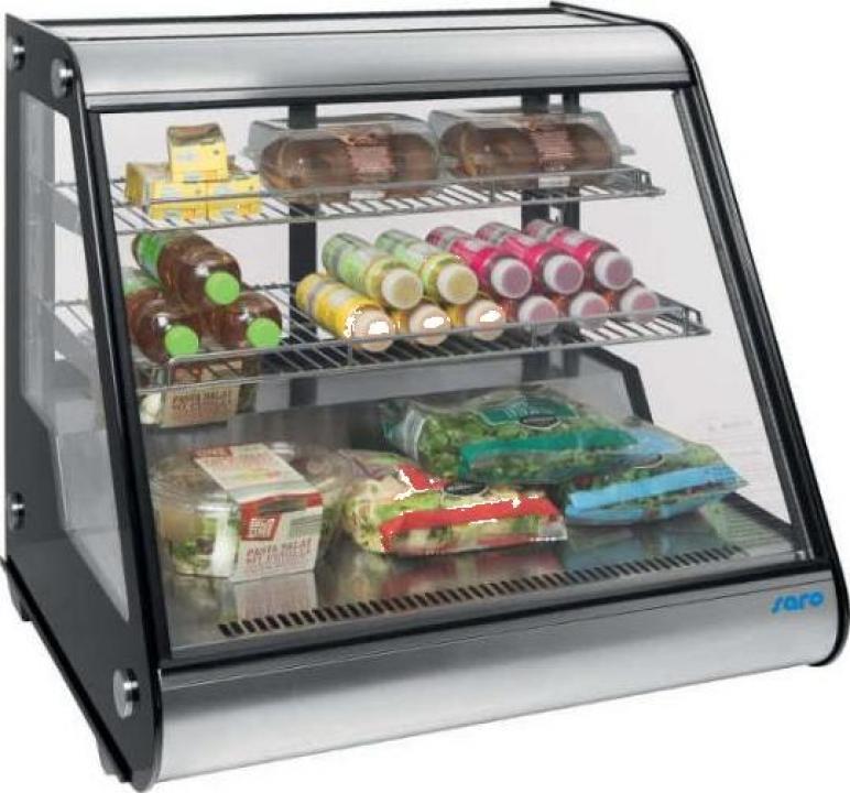 Vitrina frigorifica refrigerare ventilata Saro Sophie
