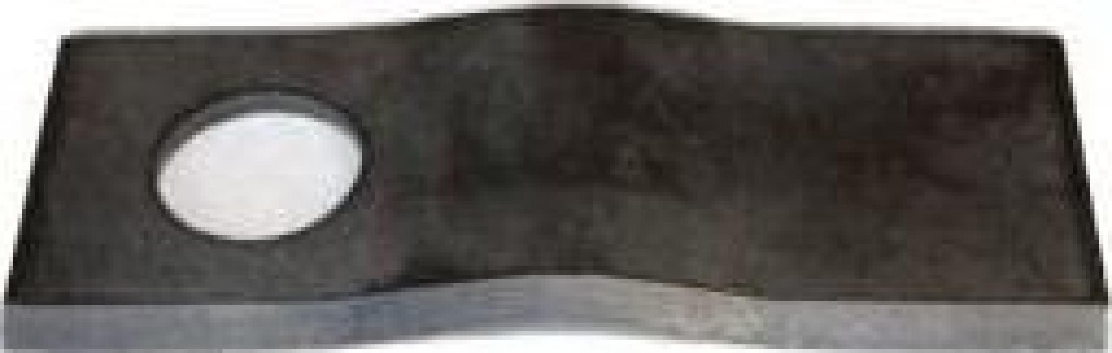 Lama cositoare - curbata (rotativa)