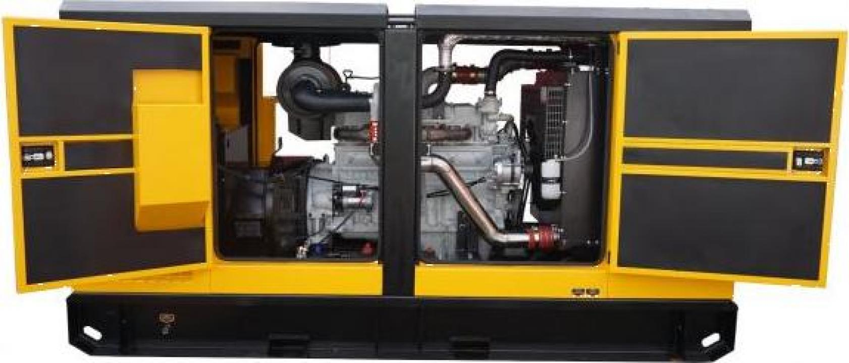 Generator insonorizat diesel trifazat Stager YDY165S3 150kVA