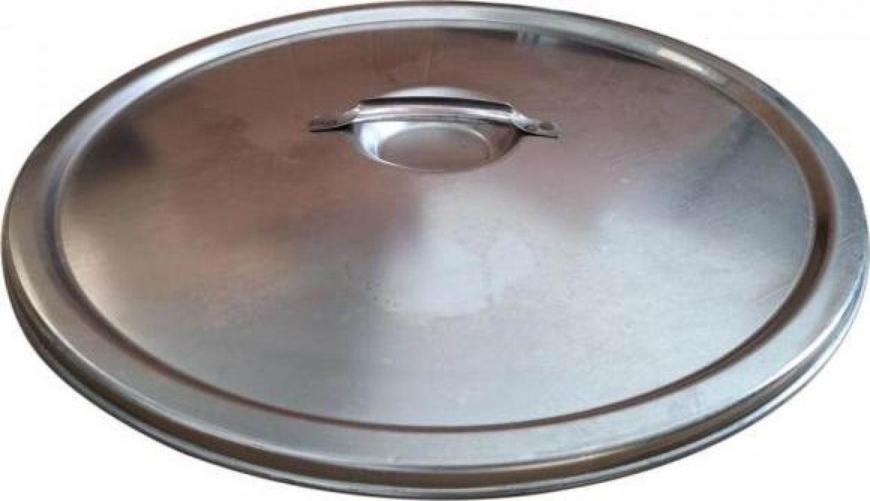 Capac antipraf pentru cisterna Marchisio CP80, 800 mm, inox