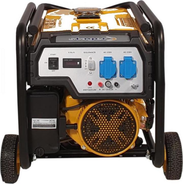 Generator open-frame Stager FD 3000E, 2.5kW, monofazat