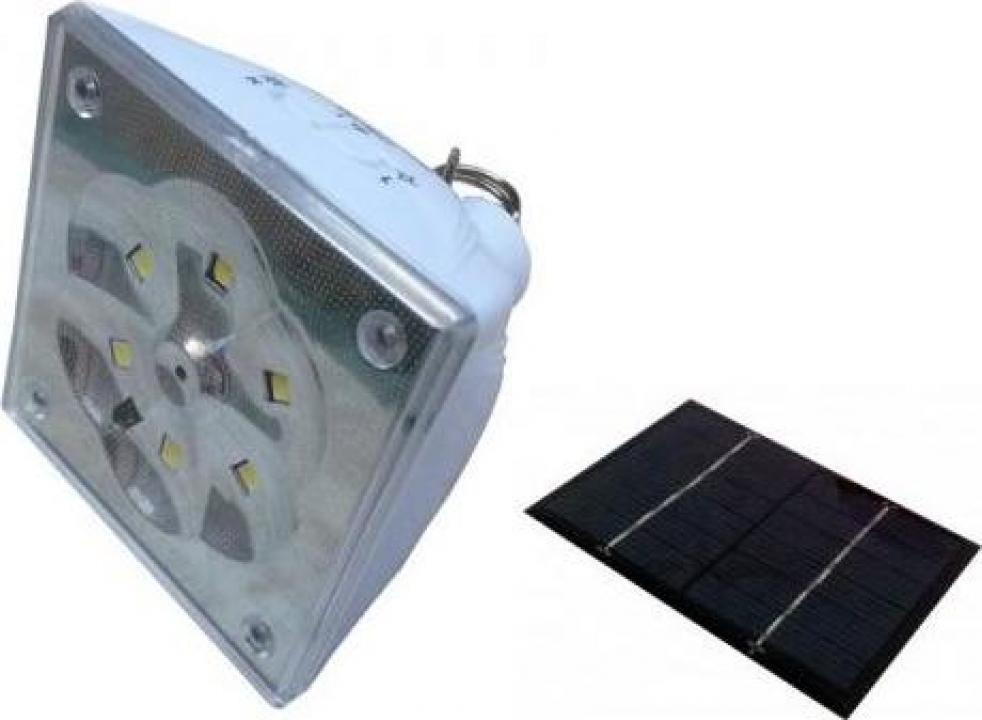 Lampa solara cu telecomanda GD5017